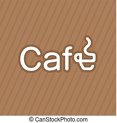 Business card coffee label vector - Business card coffee...