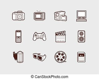 Video and Photo Icon