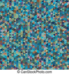 bstract Geometric Seamless Pattern of Colored Triangles....