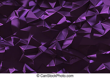 Abstract low poly triangles background - Abstract low poly...