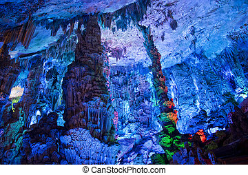 Stalactite and Stalagmite Formations
