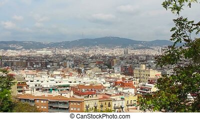 Barcelona Panorama, Spain, Viewpoint