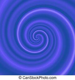 Dark blue - purple swirl, vortex, whirlpool