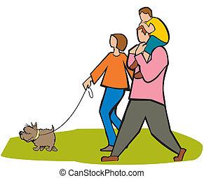 family outdoor fun