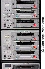 Video Duplicator rack - beta video duplicator system