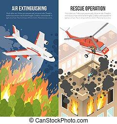 Fire Department Vertical Banners - Fire department vertical...