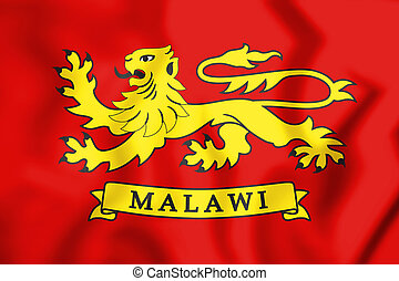 Flag_of_the_President_of_Malawi - 3D Standard of the...