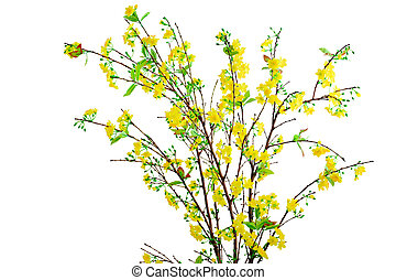 Yellow Apricot Flower - Yellow apricot flower artificial...