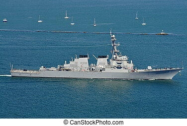 The USS Higgins (DDG 76) - The USS Higgins (an Arleigh...