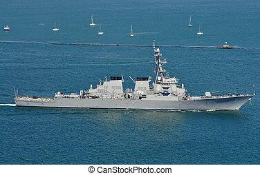 The USS Higgins (DDG 76) - The USS Higgins (an Arleigh...