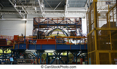 Airplane Fuselage During Manufacturing - Inside Aerospace...