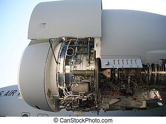 C-17 Military Aircraft Engine C-17 Military Aircraft Engine...