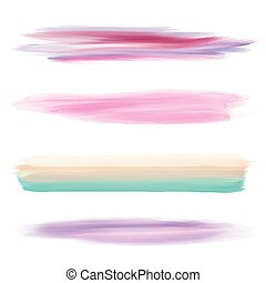 Collection of watercolour brushes - Collection of four...