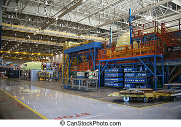 Part Containers in an Aircraft Facility - Inside Aerospace...