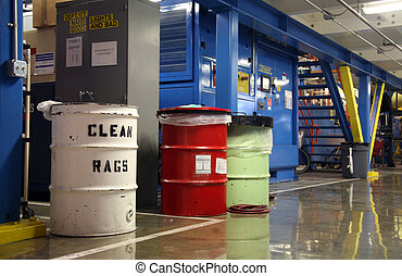 Refuse Container in Aerospace Factory - Inside Aerospace...