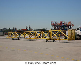 Shipping Yard - Shipping Receiving Area Outside Aerospace...