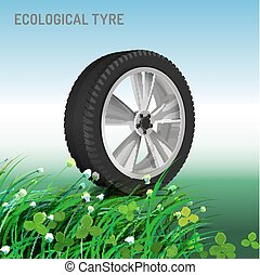 Ecological Tyre Image