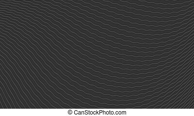 Black waves abstract video animation - Black waves abstract...