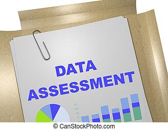 Daten, begriff, Einschätzung