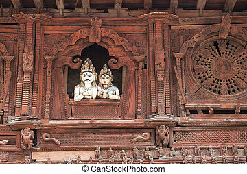 Ancient Temple, Kathmandu Durbar Square, Nepal - Image of an...