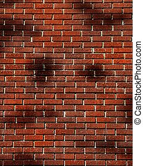 Dramatic Brick Fantasy Photo Background for Digital...