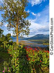Lake Buyan - Bali Island Indonesia - Lake Buyan in Bali...