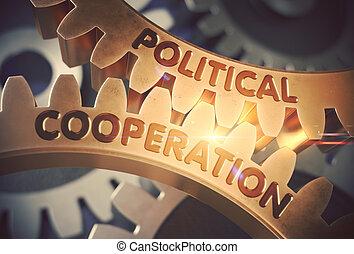 3D, 政治, 合作