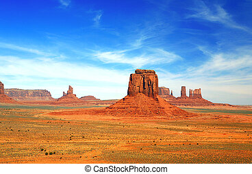 Multiple Buttes of Monument Valley USA