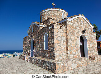 Church of Profitis Elias. Akefalou St. near, Protaras area...