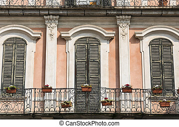 Varese (Italy): Palazzo Estense, hosting the town hall -...