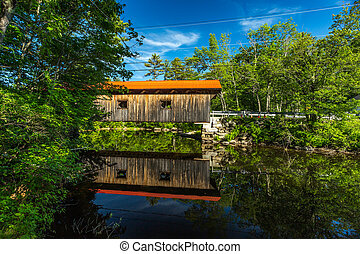 Waterloo Covered Bridge - The Waterloo Covered Bridge...
