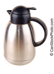 Thermos from stainless steel for hot drinks