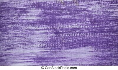 Violet painted wooden background in motion. - Movement of a...