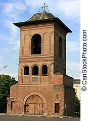 Belfry of the Patriarchate, Bucharest, Romania