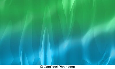 Flowing waves background - Background with waving shapes