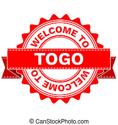 Doodle of WELCOME TO COUNTRY TOGO - Illustration Doodle of...