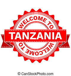 Doodle of WELCOME TO COUNTRY TANZANIA - Illustration Doodle...