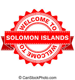 Doodle of WELCOME TO COUNTRY SOLOMON ISLANDS . JPEG . -...