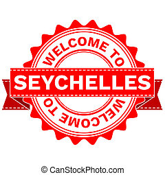 Doodle of WELCOME TO COUNTRY SEYCHELLES . JPEG . -...