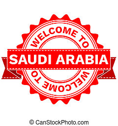 Doodle of WELCOME TO COUNTRY SAUDI ARABIA