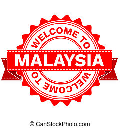 Doodle of WELCOME TO COUNTRY MALAYSIA . JPEG . -...