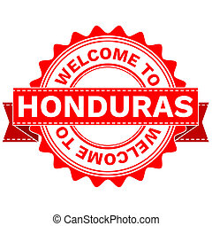 Doodle of WELCOME TO COUNTRY HONDURAS - Illustration Doodle...