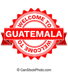 Doodle of WELCOME TO COUNTRY GUATEMALA - Illustration Doodle...