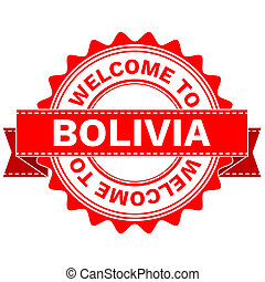 Doodle of WELCOME TO COUNTRY BOLIVIA - Illustration Doodle...