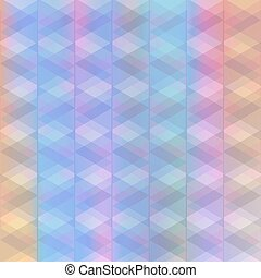 Abstract background of identical diamonds with different...