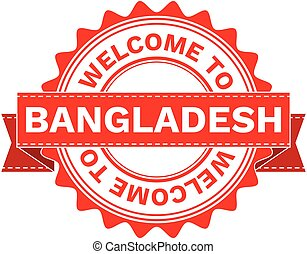 Vector Illustration Doodle of WELCOME TO COUNTRY BANGLADESH...