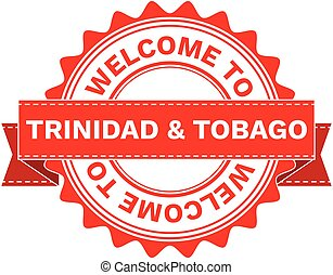 Vector Illustration Doodle of WELCOME TO COUNTRY TRINIDAD...