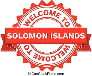 Vector Illustration Doodle of WELCOME TO COUNTRY SOLOMON...