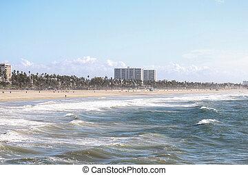 Venice Beach on a Cool Spring day - Venice Beach on a cool...