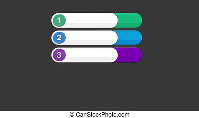 Five round square intro title box chart 2,powerpoint...